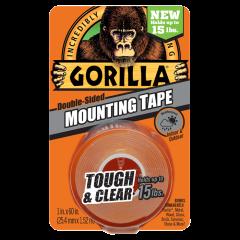 Gorilla Glue 6065102 Ruban adhésif deux côtés en pellicule 25.4mm x 1.52m