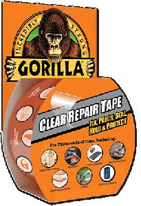 Gorilla Glue 6115002 Ruban adhésif un côté en pellicule 48mm x 4.5m
