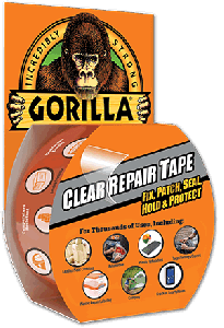 Gorilla Glue 6115002 Single-sided film Tape 48mm x 4.5m