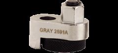 "Gray Tools 19 Extracteur de tige filetée 1/2"" - 3/4"" prise 1/2"""