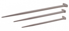 Gray Tools 73923 Ensemble de 3 barres levier