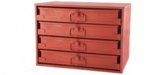 Gray Tools 90005-PAK Boîte à compartiments 4 sections