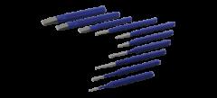 Gray Tools C10LRA Ensemble combiné de 10 poinçons et burins