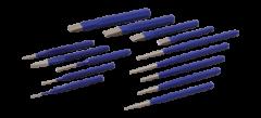 Gray Tools C14LR Ensemble combiné de 14 poinçons et burins