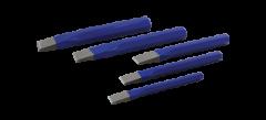 Gray Tools C45LR Ensemble de 5 ciseaux À bois