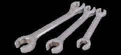 """Gray Tools FL3S Ensemble de 3 clés à tuyau 3/8"""" x 7/16"""" - 5/8"""" x 11/16"""""""