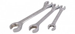 Gray Tools FL3S 3 piece flare nut wrench set
