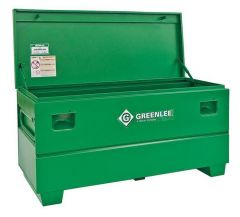 "Greenlee 1332 32"" x 19"" x 14"" jobsite box"
