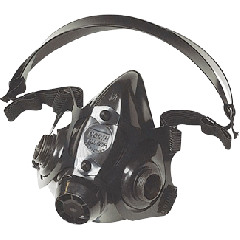 Honeywell 770030M Medium Silicone half mask respirator
