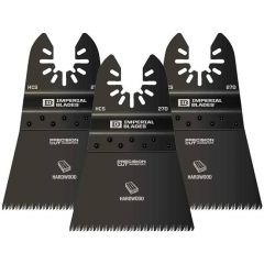 """Imperial Blades IBOA270-3 2-1/2"""" oscillating tool Sawing blade ONE FIT"""