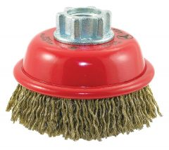 "Jet 553505 3"" x 5/8""-11 crimped cup brush"