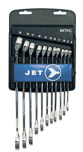 Jet 700182 11 piece 12 point combination wrench set 8-19mm