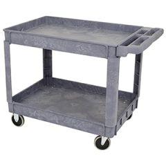 """Jet 842909 36"""" x 24"""" 2 -shelf utility cart"""