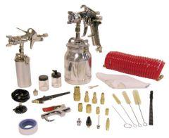 King 8195  Suction feed spray gun kit