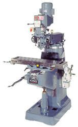 "King 942VS-6-NF Vertical ""Turret"" milling machine"