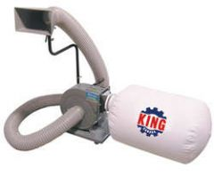 King KC-1105C 600 CFM dust collector