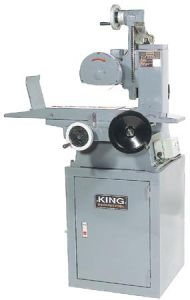 "King KC-126SG 6"" x 12"" surface grinder"