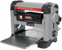 """King KC-13HPC 25-3/4"""" electric planer with helical cutterhead"""