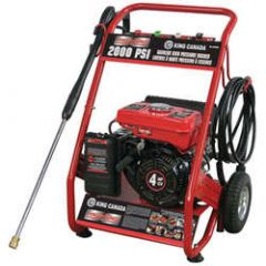 King KPW-2001FM 2000PSI 4HP high pressure washer