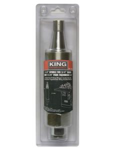 """King KW-088 1"""" Spindle"""