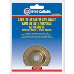 King KW-4803 Lame à rectifier pour outil oscillant