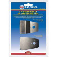 King KW-4815 Ensemble de 2 grattoirs pour outil oscillant