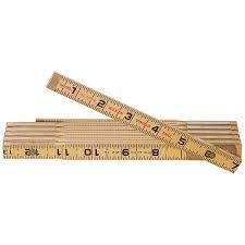 Klein Tools 901-6 6' Wood folding rule