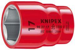 """Knipex 983717 Douille isolée 17mm x 6 pans à prise 3/8"""""""