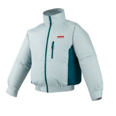 Makita DFJ201ZL Large 18V white fan jacket