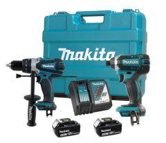 Makita DLX2005T Ensemble de 2 outils 18V li-ion