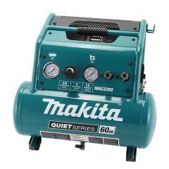 Makita MAC320Q 1.5HP 3 gallon portable quiet air compressor