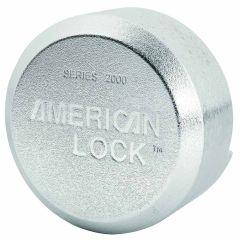 """Master Lock A2000 Cadenas en acier massif de 2-7/8"""" avec manille cachée"""