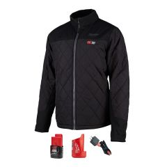 Milwaukee 203B-21L Black Large Heated jacket