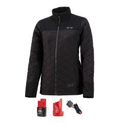 Milwaukee 233B-21S Manteau chauffant petit noir pour femme