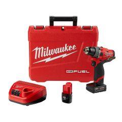 """Milwaukee 2504-22 M12 FUEL 12V 1/2"""" hammer drill"""