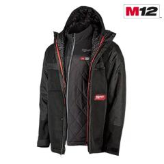 Milwaukee 255B-213X Ens. Manteau de chauffant 3xl noir