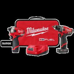 Milwaukee 2582-22 Ensemble de 2 outils 12V M12 redlithium
