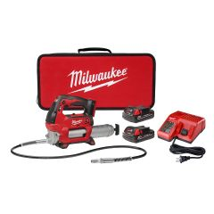 Milwaukee 2646-22CT Pistolet de graissage 2 vitesses M18