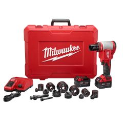 Milwaukee 2676-22 Poinçonneuse 10 tonnes 18V M18 FORCE LOGIC