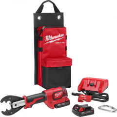 Milwaukee 2678-22O M18 FORCE LOGIC 6T Utility Crimper Kit with D3 Grooves and Fixed O Die