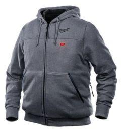 Milwaukee 302G-21L M12 gray heated hoodie Large