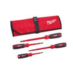 Milwaukee 48-22-2204 Set of 4 insulated screwdrivers