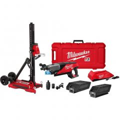 "Milwaukee MXF301-2CXS 6"" MX FUEL Handheld core drill with stand"