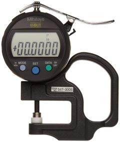 """Mitutoyo 547-300S 0-0.4""""/0-10mm x 0.0005""""/0.01mm digital depth"""