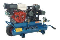 Omega Compressors PUK5508G Compresseur à essence 5.5CV 8gal