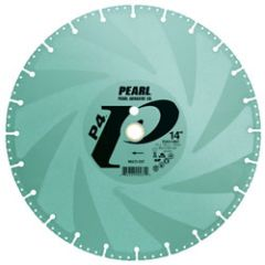 "Pearl Abrasive DIA014MC 14"" x 1"", 20mm multi-cut demolition blade"