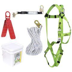 Peakworks RK4-50 Roofer's kit 50' lifeline
