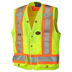Pioneer V1010140-2XL Yellow 2XL Surveyor's vest