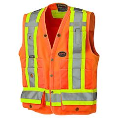 Pioneer V1010150-4XL Orange 4XL Surveyor's vest