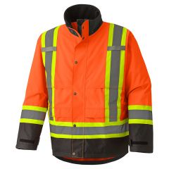 Pioneer V1200250-XL Manteau de sécurité extra-large orange